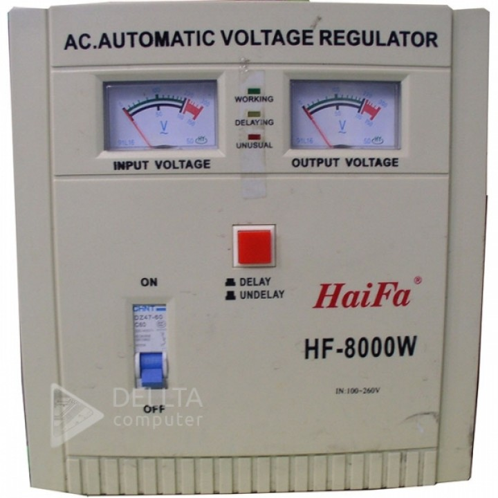 Стабилизатор HF-8000, analog 8 кВт