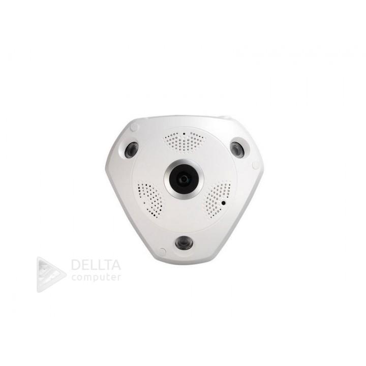 Купить 3mp  VR Camera 360 градусов панорамный вид Fisheye FS-3099W13: цена, характеристики   Dellta Computer
