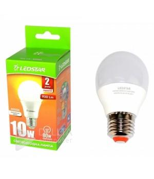 Светодиодная лампа Ledstar 10W А60 E27 4000k