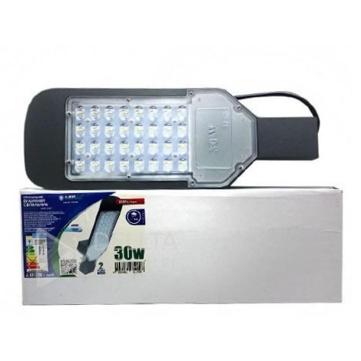 Светодиодный уличный светильник Ledex SL 30W 6000K (LX-101299)