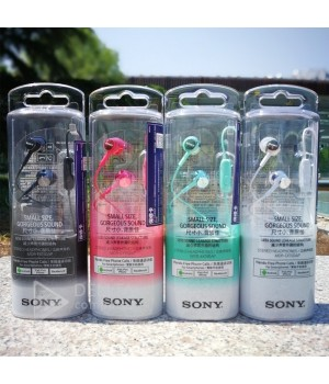 Наушники вакуумные с микрофоном Sony MDR -Ex150AP в ассортименте