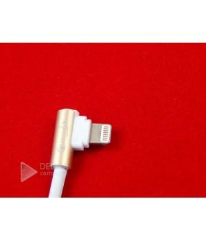 Кабель USB A - угловой Lightning (Apple iPhone/iPad/iPod) 1,2м