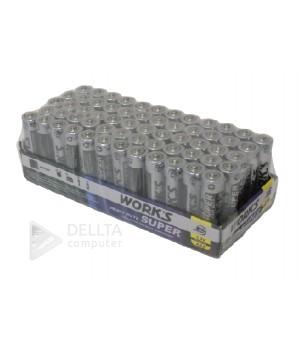 Батарейки WORKS R03 солевая