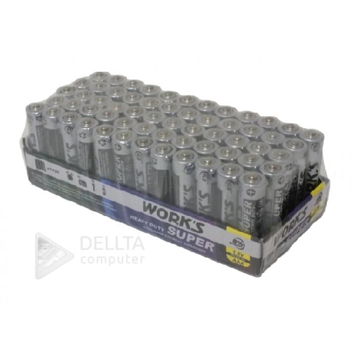 Батарейка WORKS R03 солевая
