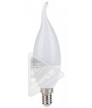 Cветодиодная лампа  WorkS E 14 5w 4000K (свеча на ветру)