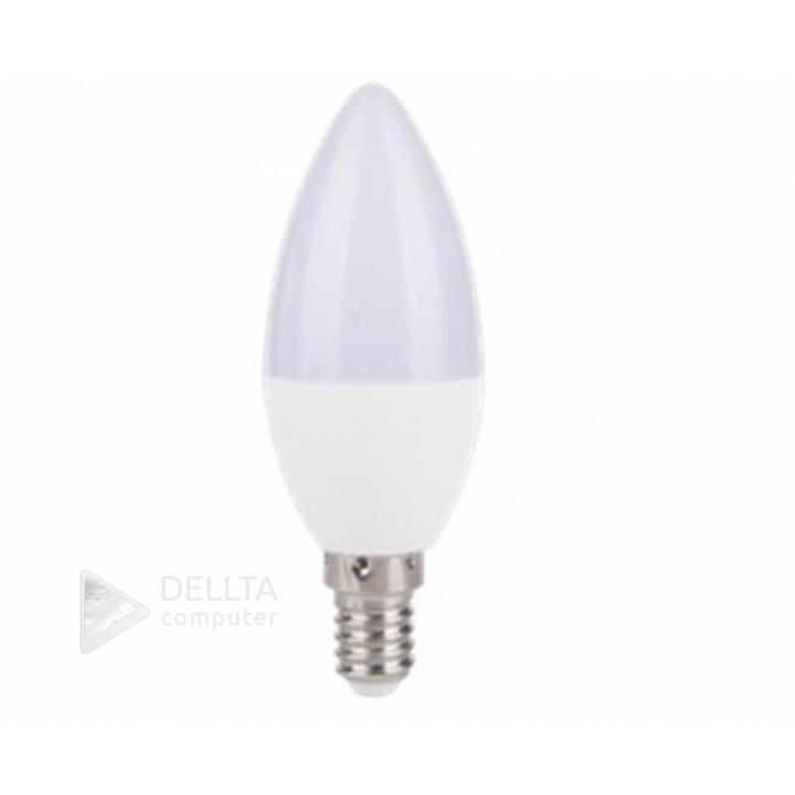 светодиодная лампа WorkS e14 7w 4000k (свеча)