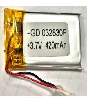 Литий-полимерный аккумулятор 032830