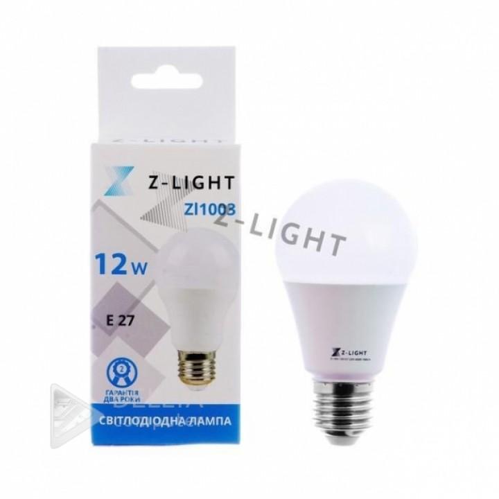 Светодиодная лампа Z-light 10w E27 6400k(zl 1003)