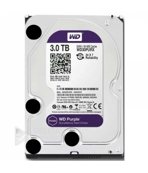 Жесткий диск Western Digital Purple 3TB 64MB WD30PURX 3.5 SATA III