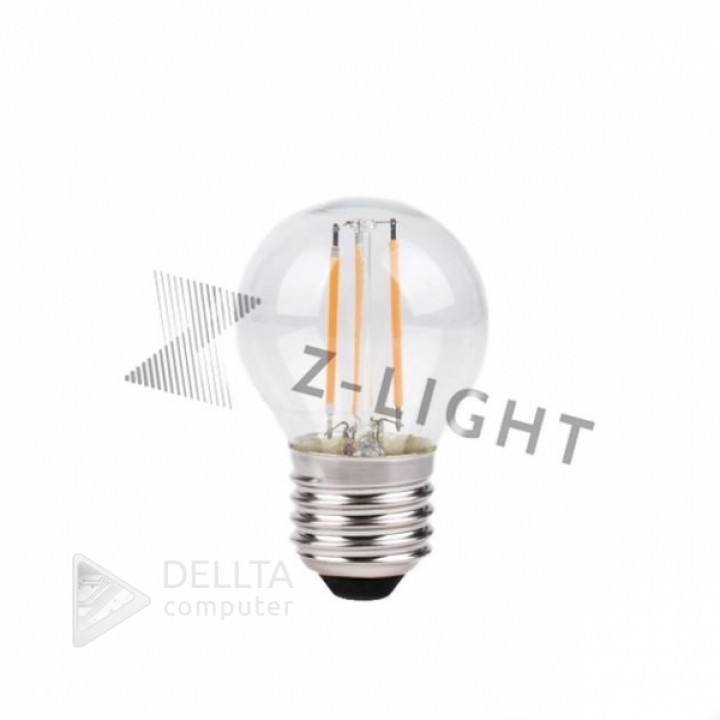 Светодиодная лампа Z-Light 5W,FILAMENT,шарик,E27,400lm