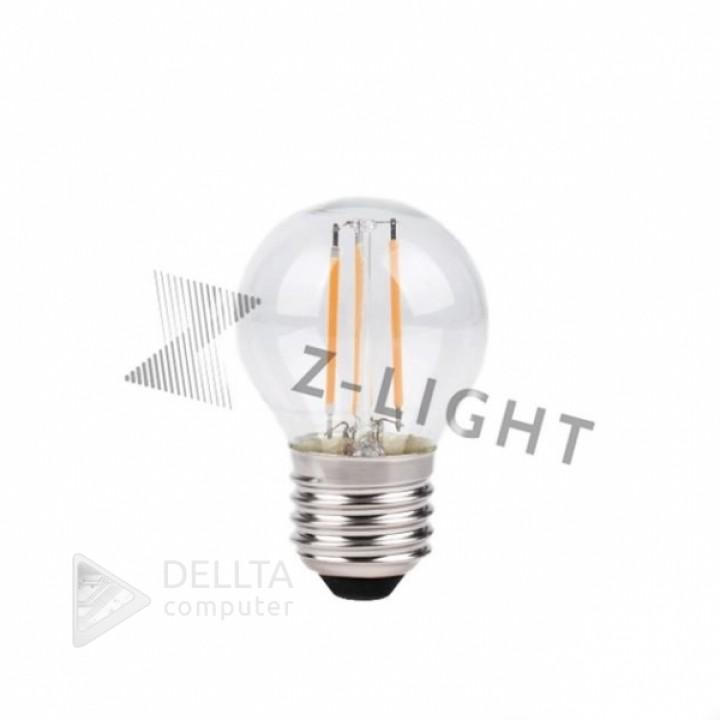 Светодиодная лампа Z-Light 5W,FILAMENT,шарик,E14,400lm