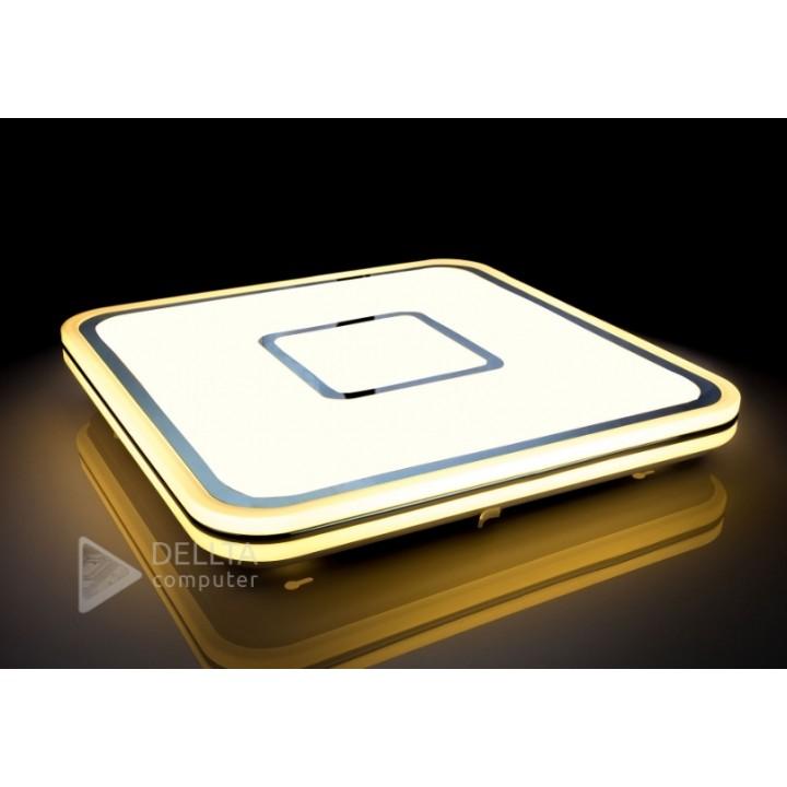 Светодиодный светильник с пультом SMART 86w 5160lm 3000k/4500k/6500k 80Ra IP20 535*535*55mm