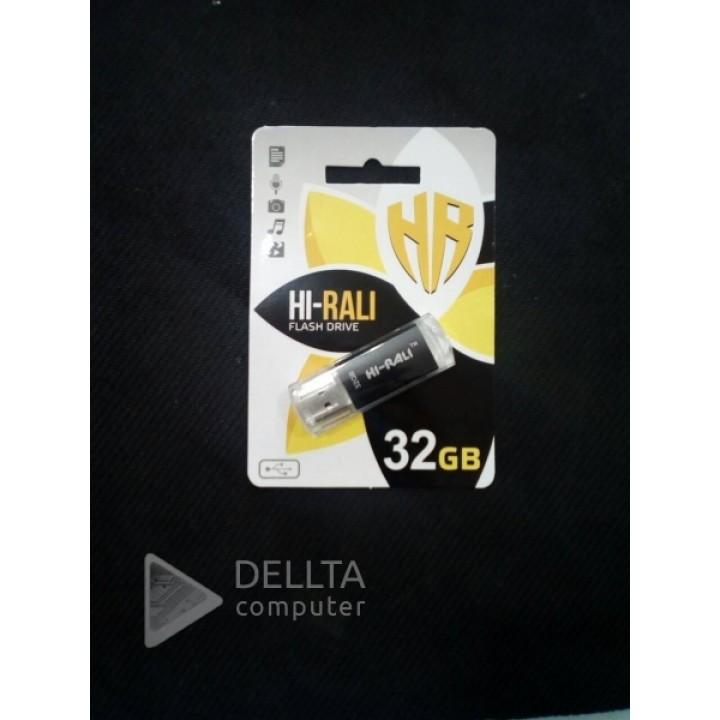 USB Флешка Hi-Rali 32 GB Rocket  black