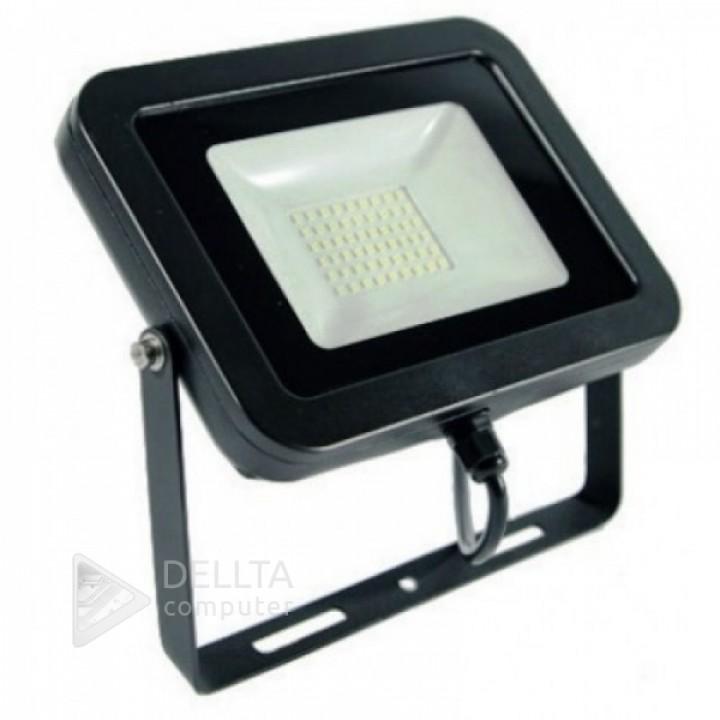 Светодиодный прожектор  Z-Light 10W, 700lm, 6500К холодный белый, 120º, IP65,черный (zl-4101)