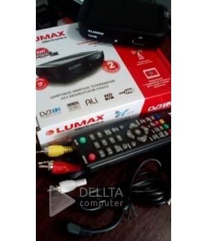 Цифровой эфирный тюнер T2 LUMAX electronics
