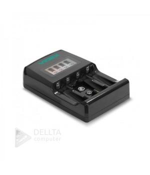 Зарядное устройство для аккумуляторов VIDEX VCH-ND400 4-х канальное