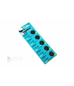 Батарейка литиевая Videx CR2016 3V, CR2016(блистер 5 батареек)