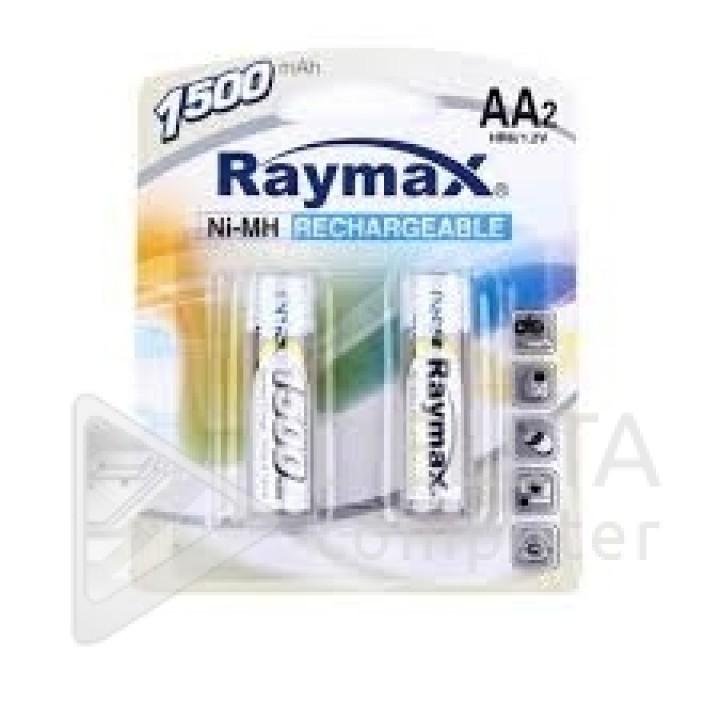 Аккумуляторная батарейка Raymax HR6- 1500 mAh (на блистере)