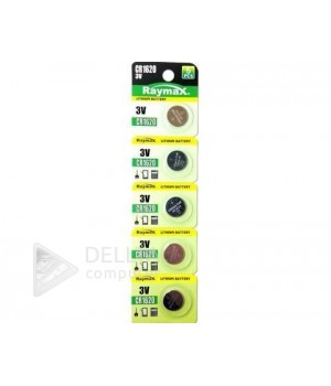 Батарейка Raymax CR 1620 (блистер 5 батареек)