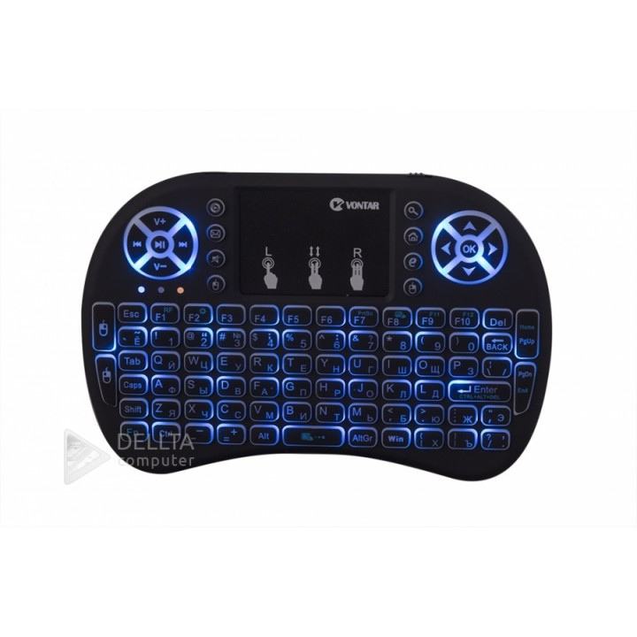 i8 Air Mouse Mini Wireless Keyboard Touchpad Remote Control for Android TV BOX Backlight PC PS3 Gamepad