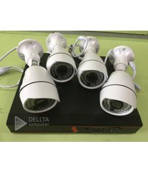 AHD, Комплект видеонаблюдения Fosvision   FS-621N20-4CH  1080p