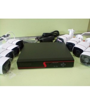 Комплект видеонаблюдения Fosvision FS-618N20-8CH  8-ми канальный 2mp AHD