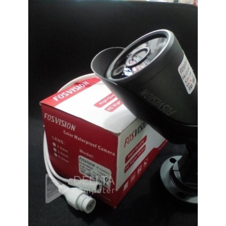 Камера Fosvision FS-6318N20 (3.6мм) 2 mp H.265 IP