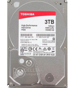Жесткий диск Toshiba P300 3TB 7200rpm 64MB HDWD130UZSVA 3.5 SATA