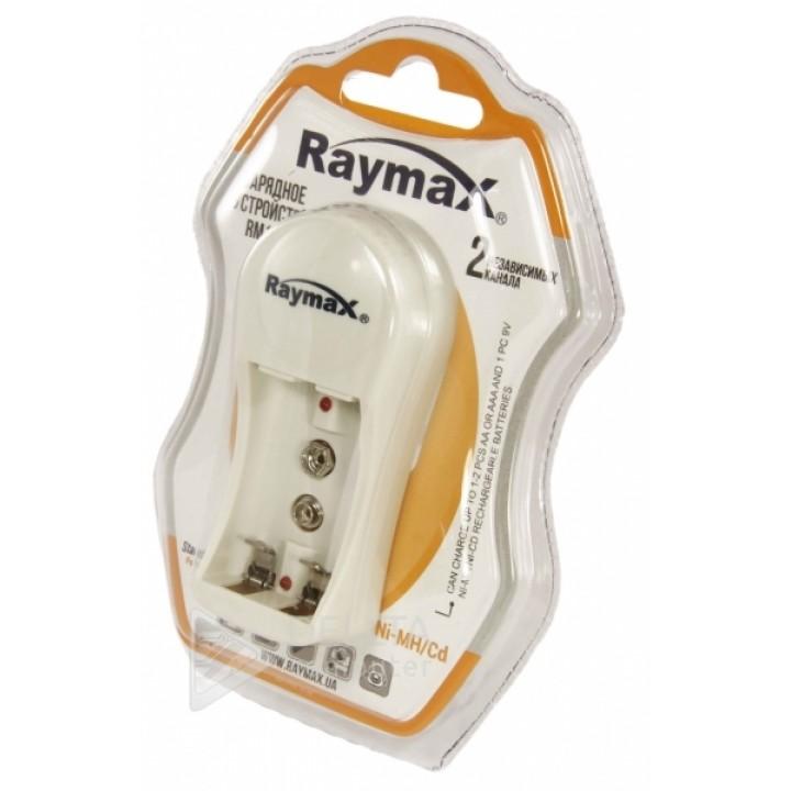 Зарядное устройство для аккумуляторов Raymax RM116 2х канальное .Для трех типов аккумуляторов
