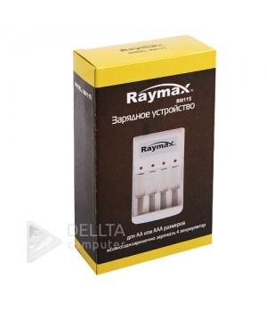 Зарядное устройство Raymax RM115  4х канальное .Для двух типов аккумуляторов