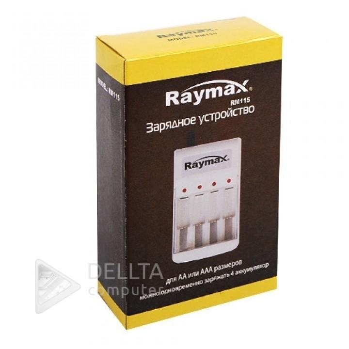 Зарядное устройство для аккумуляторов Raymax RM115  4х канальное .Для двух типов аккумуляторов