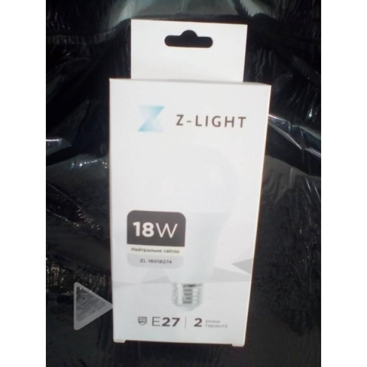 Светодиодна лампочка Z-Light ZL-19520274 E27 4000K 18w A80