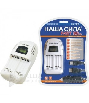 Зарядное устройство для аккумуляторов Наша сила 315 4-х канальное