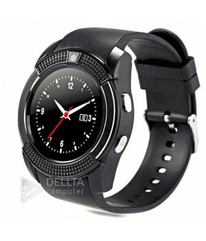 """Часы-телефон Smart Watch Smart V8  black  """""""