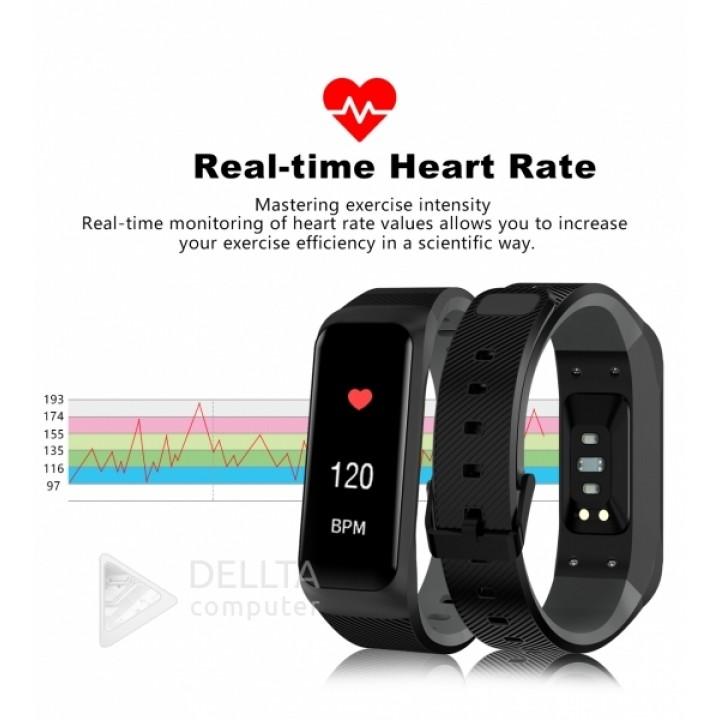 фитнес-браслет с Bluetooth- Goral B02 Черные