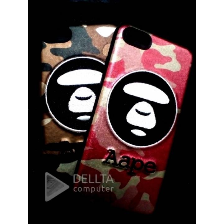 Бампер для iphone 7 Aape обезьянка-хакки