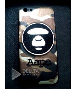 Бампер для iphone 6 Aape обезьянка-хакки
