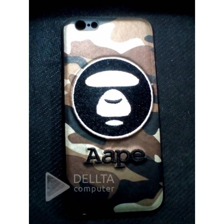 Бампер для iphone 6 Aape обезьянка-хакки