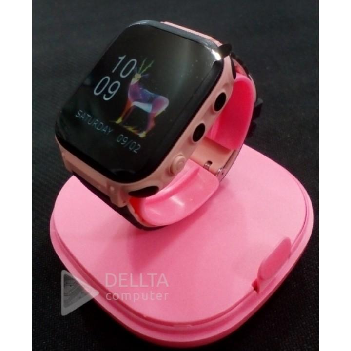 Детские часы с gps трекером А2 Pink