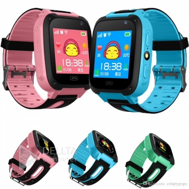 Детские часы с gps трекером Q9 Pink