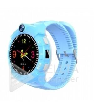 Детские часы с gps трекером +camera S02 Deep Blue