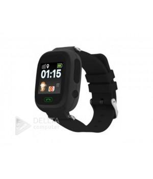 Smart часы детские сенсорные Q90 черные