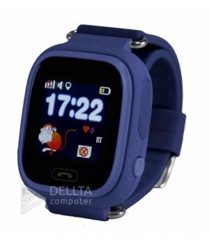 Smart часы детские сенсорные Q90 синие