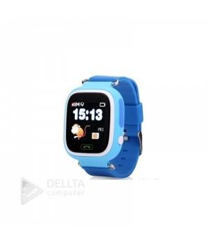 Smart часы детские сенсорные Q90 голубые