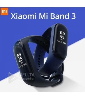 Фитнес-браслет v3 Plus: Xiaomi Mi Band 3 синие