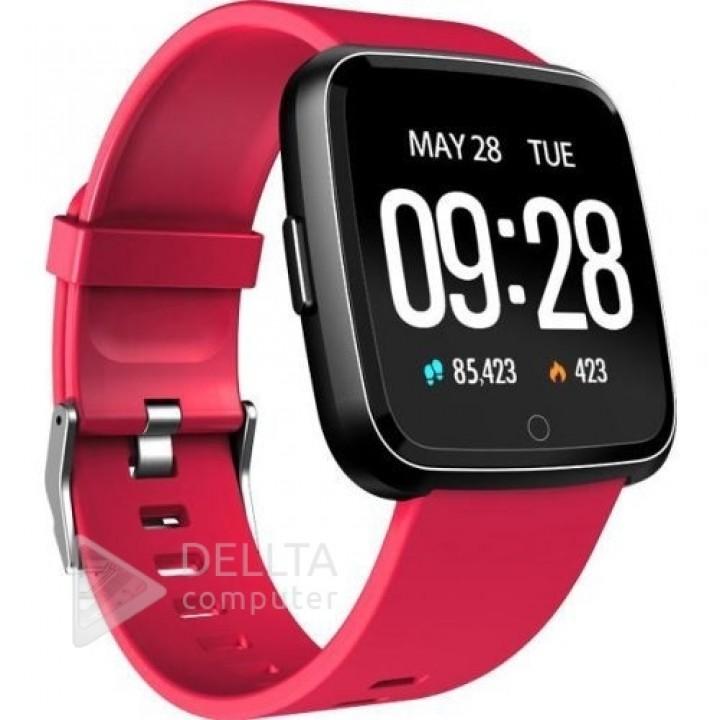 Смарт-часы, умные часы, фитнес браслет Y7 (пульсометр, тонометр) for color RED