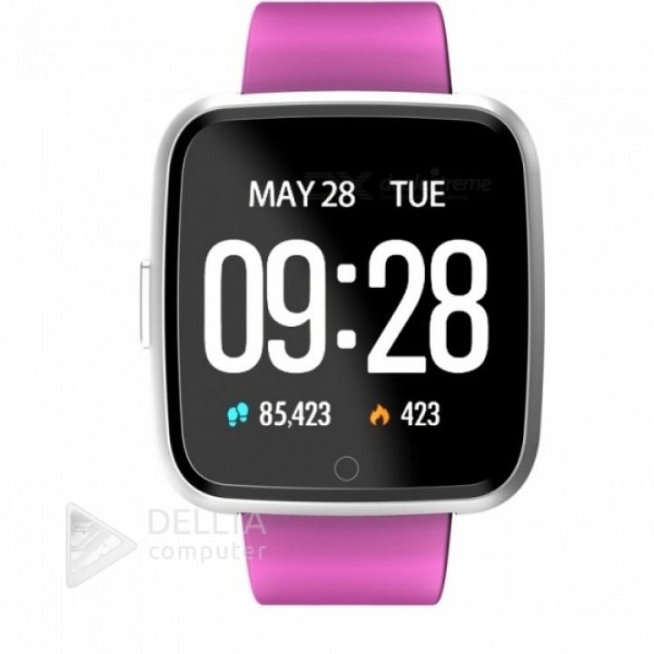 Смарт-часы, умные часы, фитнес браслет Y7 (пульсометр, тонометр) for color PURPUR