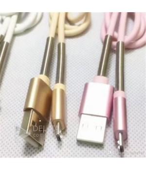 Кабель USB, iphone (Half Spring) с пружинкой
