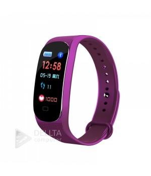Фитнес-браслет M5 фиолетовый