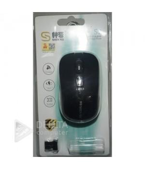 Мышка беспроводная S2 черная